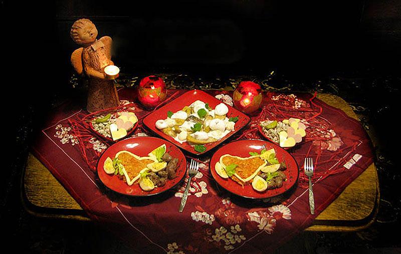 Семейные выходные — королевский ужин