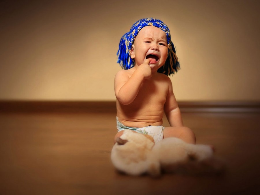 Детские истерики и как с ней бороться!