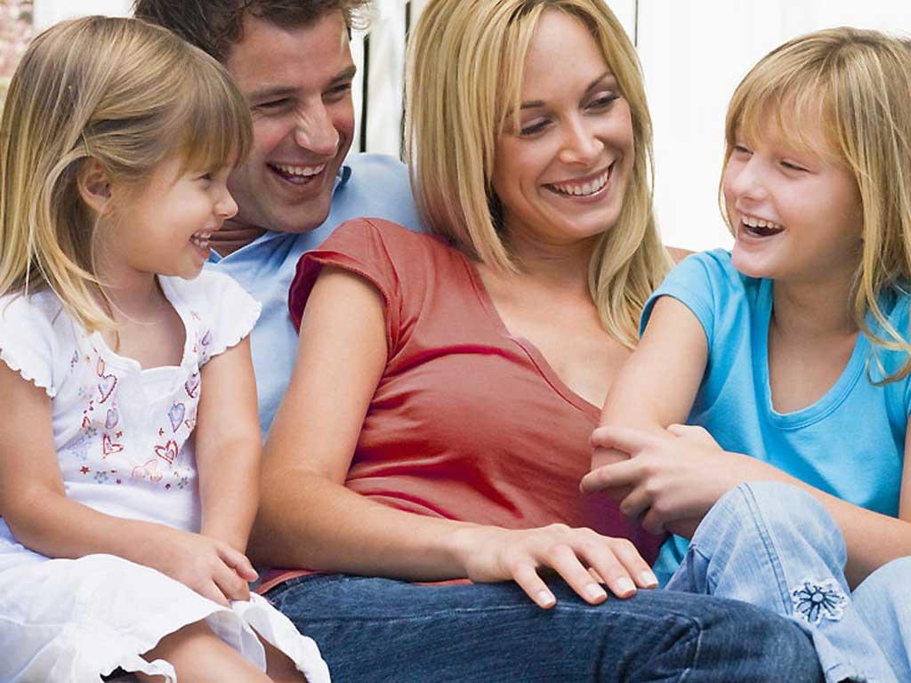 Новый папа и дети его жены